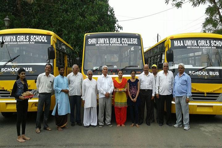 Maa Umiya Patidar Girls Higher Secondary School-Transport