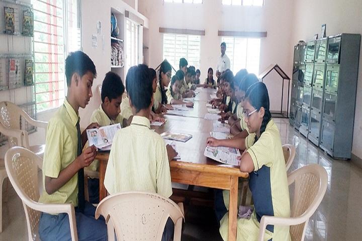 Mahar Regiment Public School -Library with reading room
