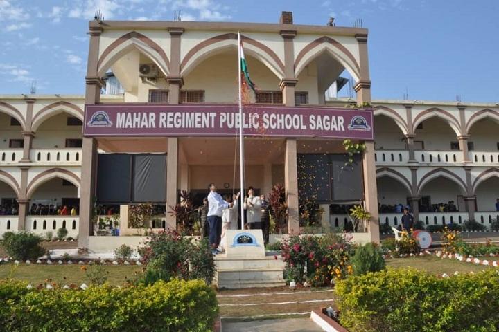 Mahar Regiment Public School-Campus-View front