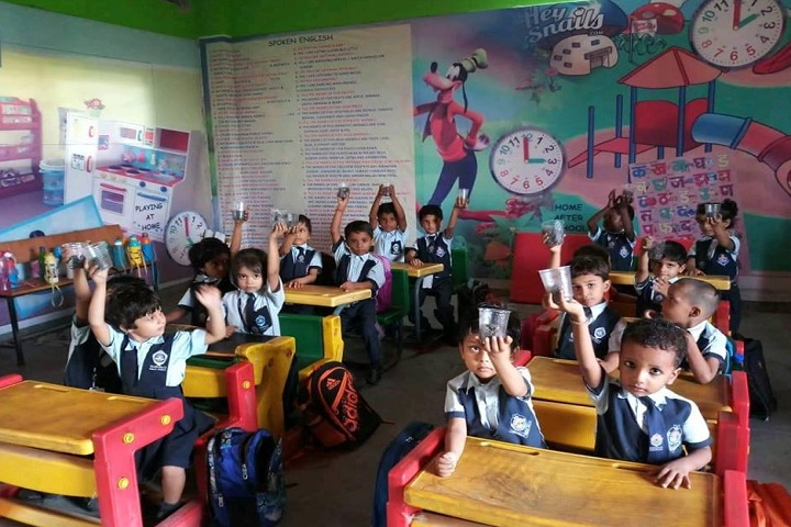 Maharaja Public School-Classroom junior