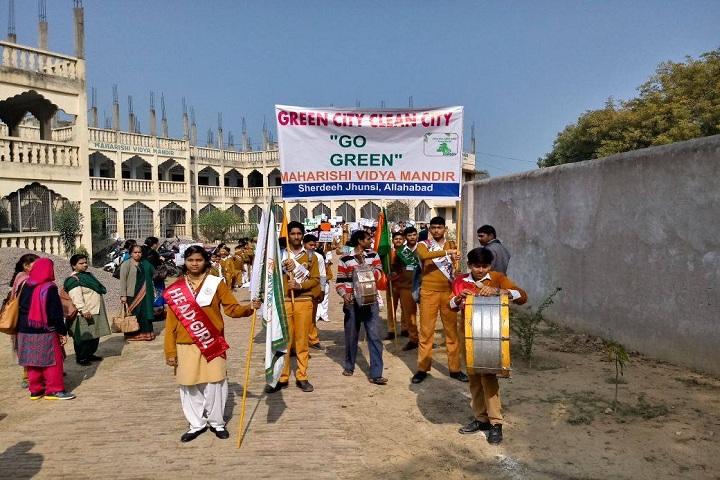 Maharishi Vidya Mandir-Rally
