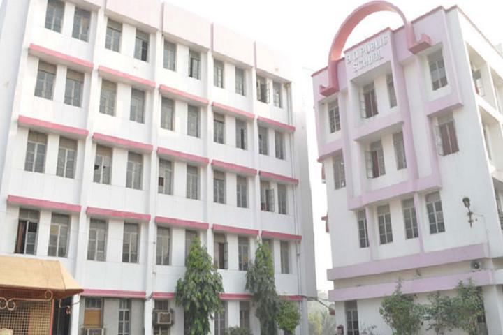 B D Public School-Campus-View