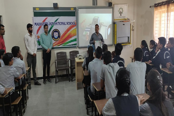 Mahavir Jain National School-Classroom