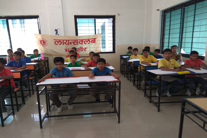 Mandsaur International School-Classroom