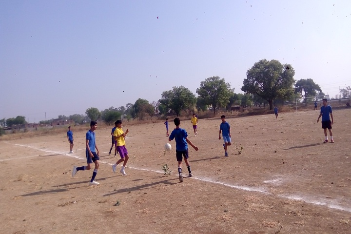 Mandsaur International School-Sports football