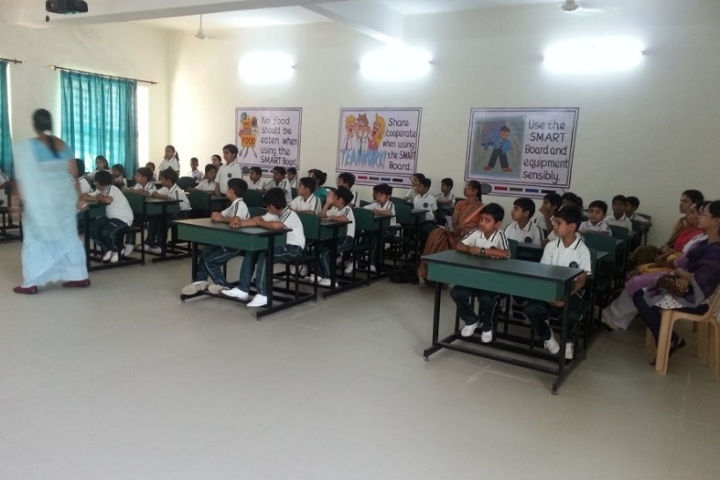 Metropolis International School-Classroom with teacher