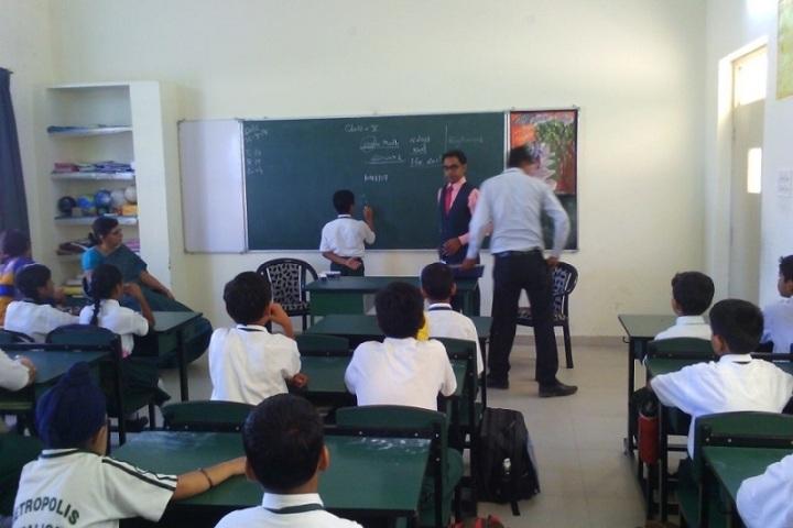 Metropolis International School-Classroom