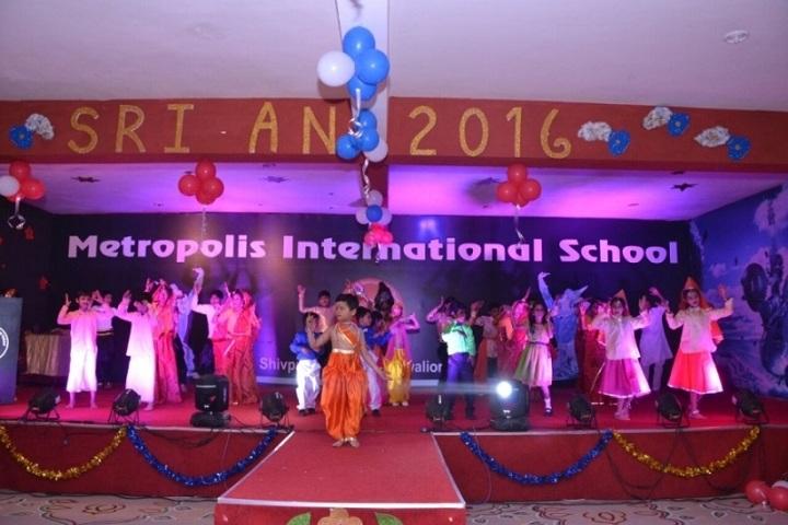 Metropolis International School-Events function