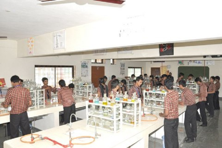 Mgm English Medium Higher Secondary School-Chemistry Lab