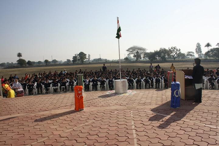 Mount Litera Zee School-Flag Hosting