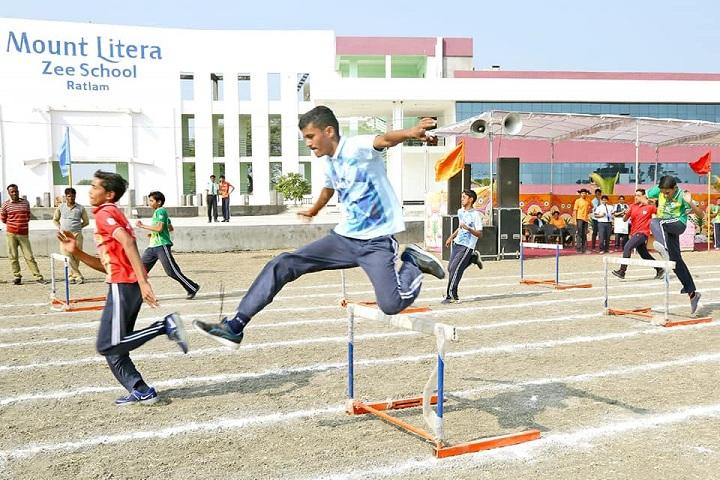 Mount Litera Zee School-Long Jump