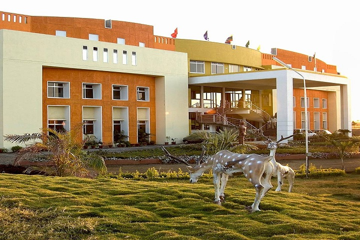 Narmada Valley International School-Campus-View side