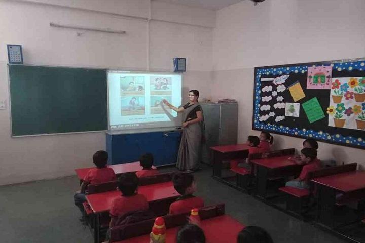 Narmada Valley International School-Classroom smart