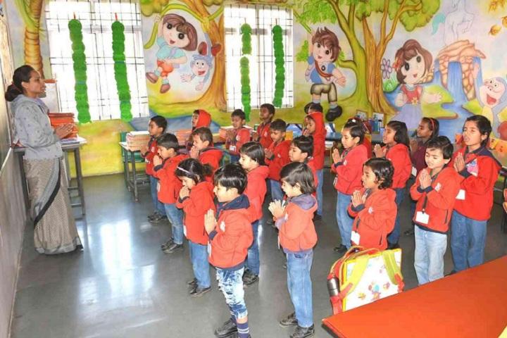 Narmada Valley International School-Classroom