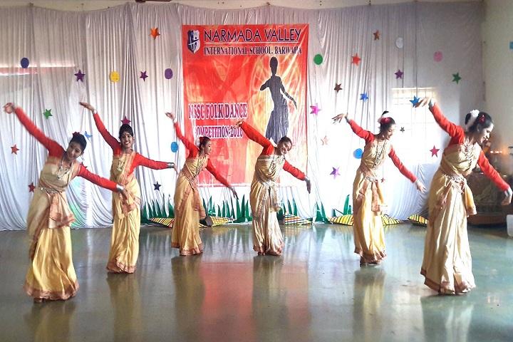 Narmada Valley International School-Events dance