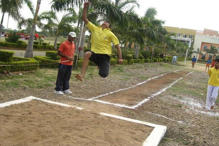 Narmada Valley International School-Sports jump