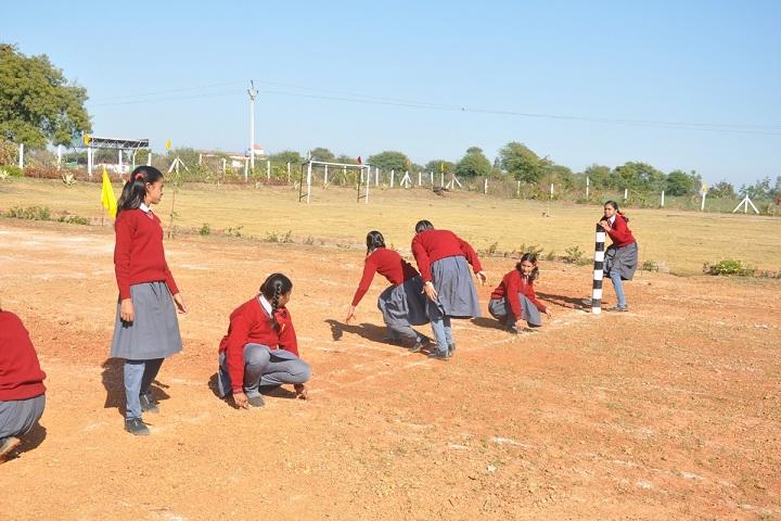 Narmada Valley International School-Sports kho kho
