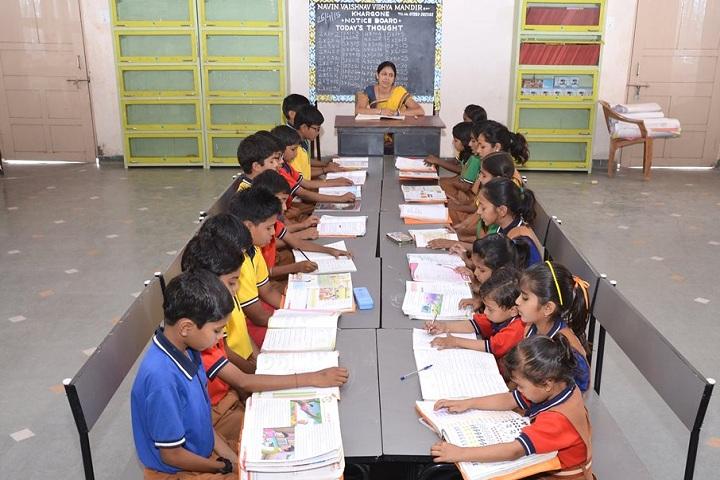 Navin Vaishnav Vidhyamandir-Library