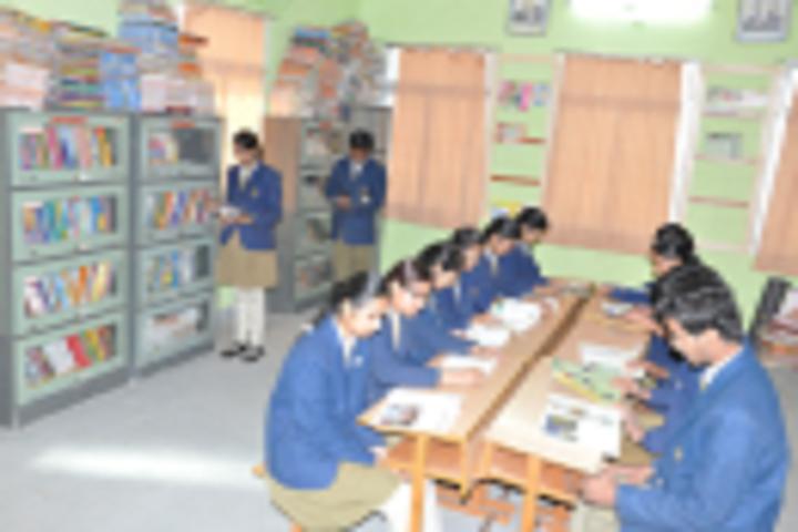 Nirmal Public Achool-Library with reading room