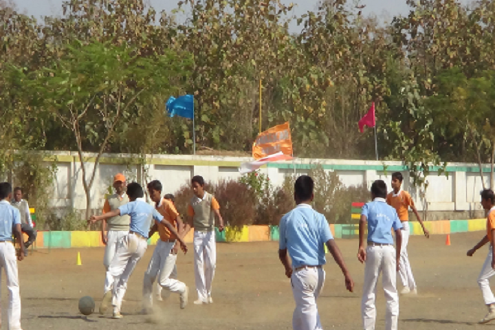 Nirmal Public Achool-Sports football