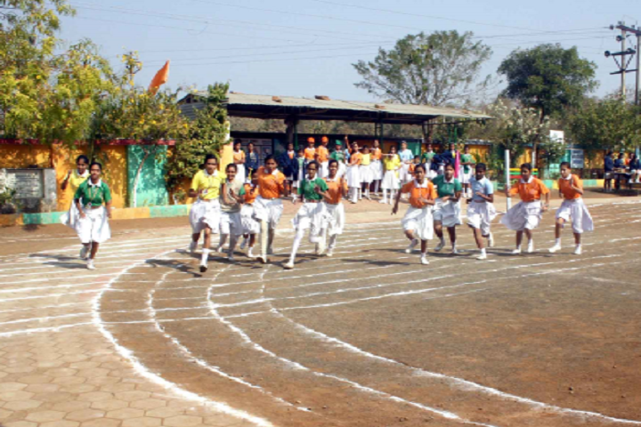 Nirmal Public Achool-Sports running
