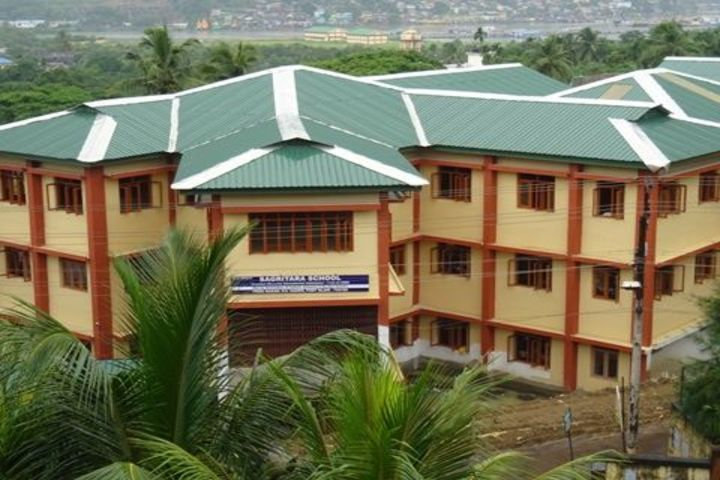 Sagritara School-School building