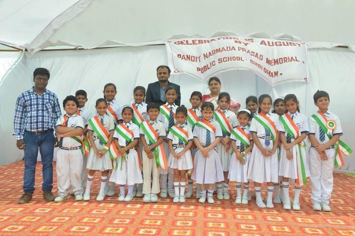 Pandit Narmada Prasad Memorial Public School-Independence Day