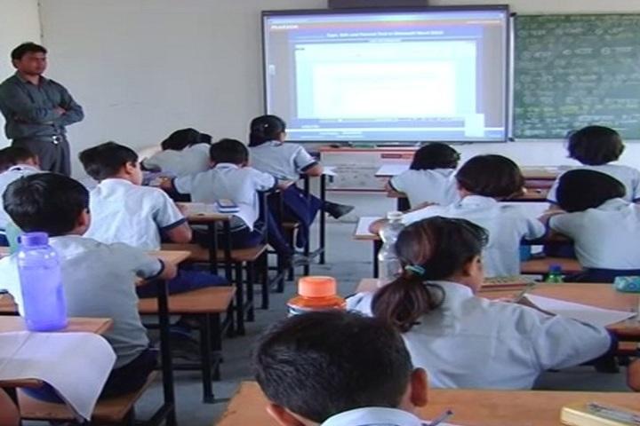 Pandit Narmada Prasad Memorial Public School-Smart-Classroom