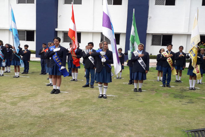Podar International School-Ceremory