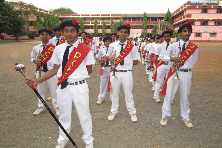 Pushpa Convent Higher Secondary School-Sports Meet