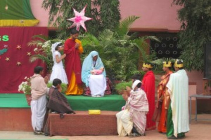 Pushpa Convent Higher Secondary School-Christmas-Celebration