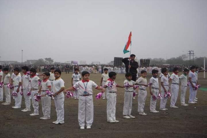 Pushpa Senior Secondary School-Sports Meet