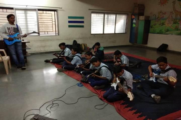 R D Public School-Music Room