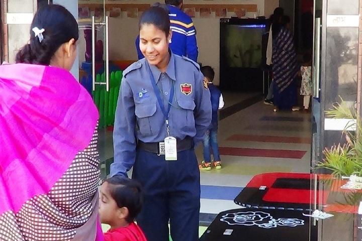 R D Public School-Security