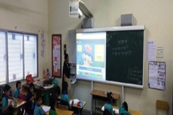 R D Public School-Smart-Classroom