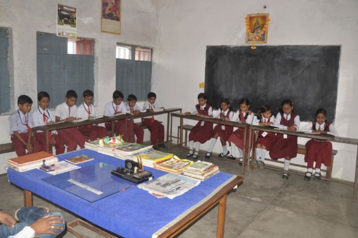 RC English Medium Higher Secondary School-Library