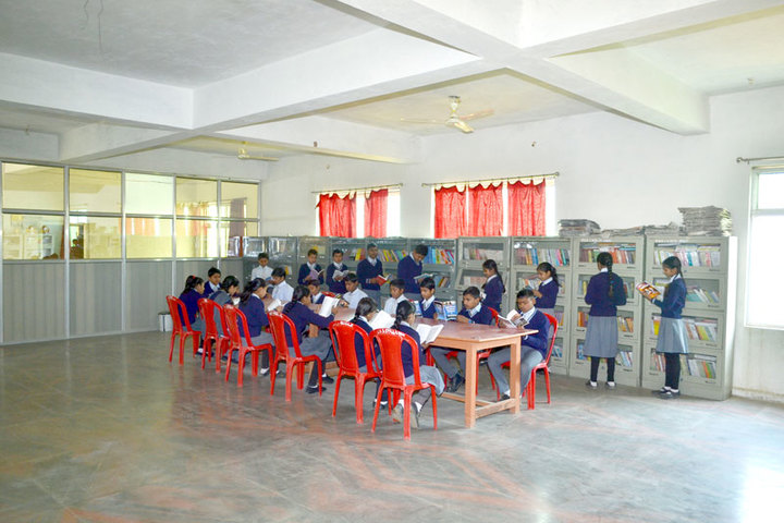 RVS Public School-Library