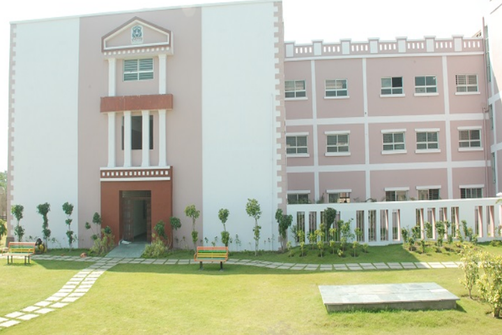 Raj Heights The Global School-Campus View1