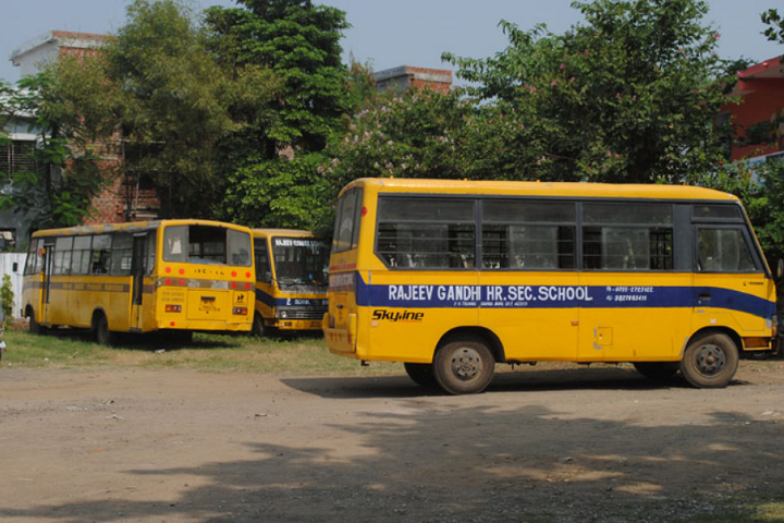 Rajeev Gandhi Higher Secondary School-Transport