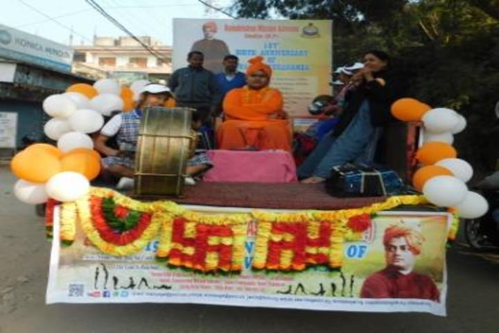 Ram Krishna Vidya Mandir-Swami Vivekananda Jayanthi