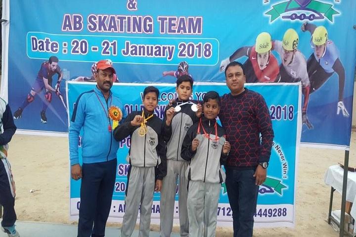 Ramshree India International School-Skating Team