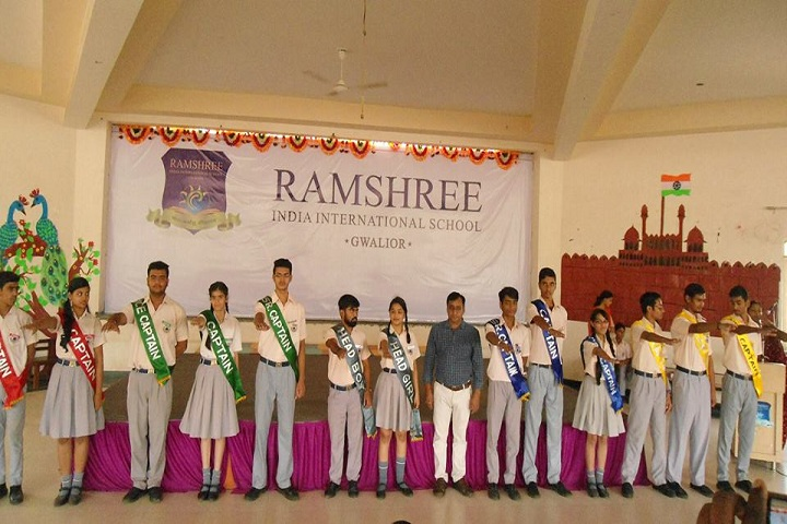 Ramshree India International School-Ceremory
