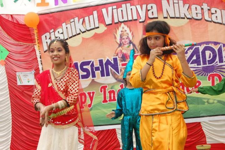 Rishikul Vidya Niketan-Festival Celebrations