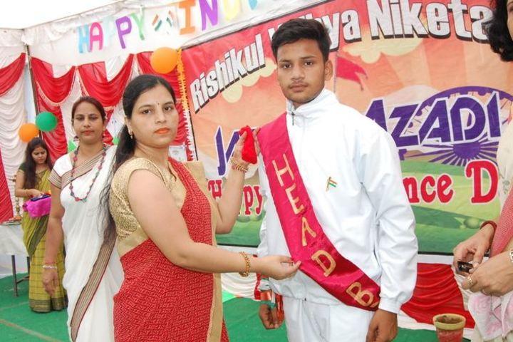 Rishikul Vidya Niketan-Investiture Ceremony