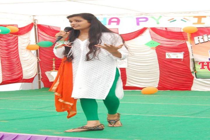 Rishikul Vidya Niketan-Student Speech