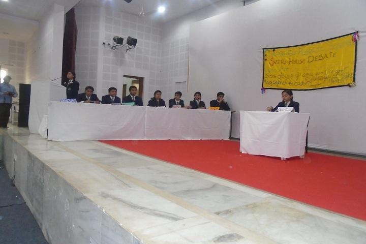 Sadguru Public Hr Sec School-Debate Competition