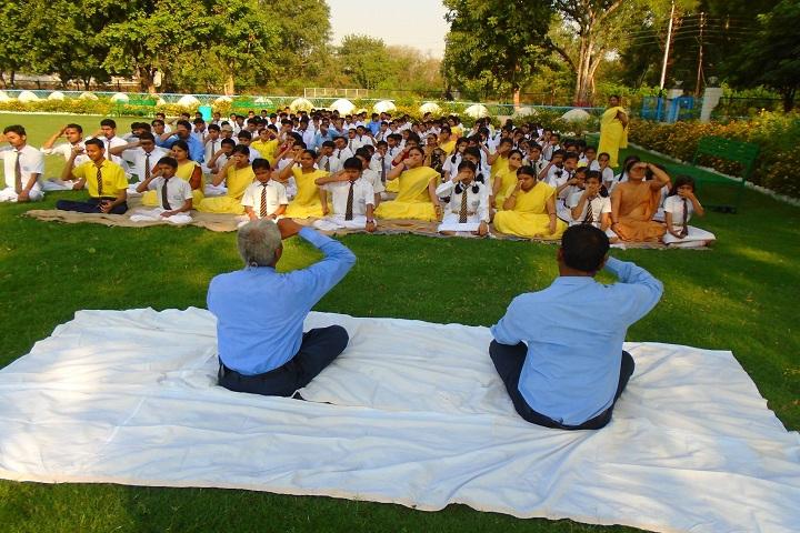 Sadguru Public Hr Sec School-Yoga