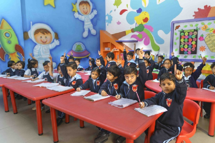 Saket International School-Childrens classroom