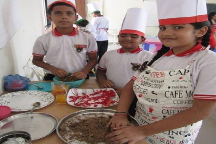 Saket International School-Fireless cooking competition