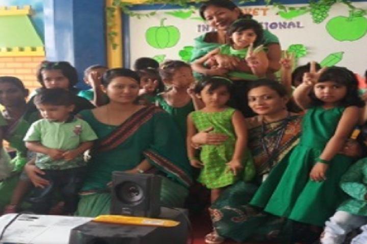 Saket International School-Green Day Celebrations